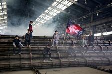 Stray Kids Distric 9 Music Video Shooting Behind (3)