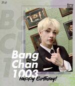 Birthday Bang Chan 2019