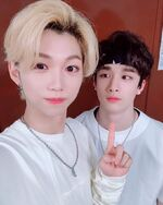 Felix and Bang Chan IG Update 180804