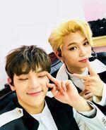 Woojin and Felix IG Update 180502 (1)