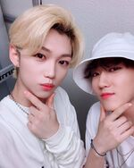Felix and Changbin IG Update 180804