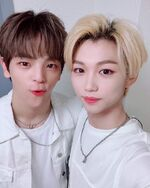 Felix and Woojin IG Update 180804 (2)