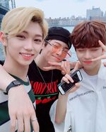 Felix, I.N and Seungmin IG Update 180711