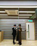 Hyunjin and Lee Know IG Update 181021 (1)