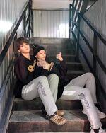Lee Know Hyunjin IG Update 20190219 (1)