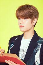 Seungmin Mixtape Gone Days Jacket Shooting Behind