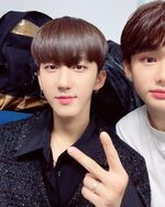 Changbin and Hyunjin IG Update 181112