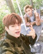 Seungmin and Felix IG Update 180426