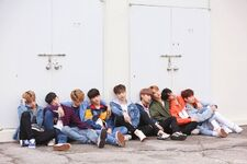 Stray Kids Grow Up Video Shooting Behind
