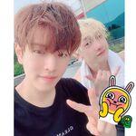 Seungmin Bang Chan IG Update 20190721
