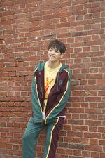 Woojin I am WHO Jacket Shooting Behind (1)