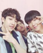 Bang Chan, Changbin and Han IG Update 180531