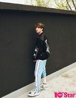 Bang Chan 10+STAR Magazine May 2018