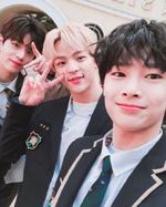 I.N, Woojin and Seungmin IG Update 180130