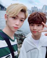 Felix and Seungmin IG Update 180711