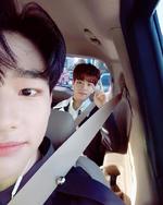 Hyunjin and Seungmin IG Update 180525