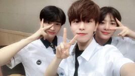 Seungmin, Hyunjin and I.N IG Update 180614 (1)