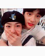 Hyunjin and I.N IG Update 180512