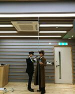 Hyunjin and Lee Know IG Update 181021 (2)