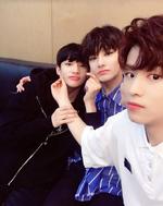 Seungmin, I.N and Hyunjin IG Update 180502