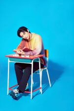 Hyunjin Mixtape Gone Days Jacket Shooting Behind