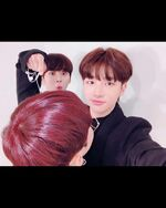 Hyunjin and Lee Know IG Update 181116