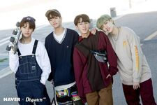 I.N, Seungmin, Changbin and Bang Chan Naver x Dispatch (1)