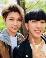 Felix and Changbin IG Update 180425