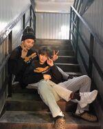Lee Know Hyunjin IG Update 20190219 (2)
