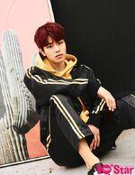 Seungmin 10+STAR Magazine May 2018
