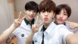 Seungmin, Hyunjin and I.N IG Update 180614 (3)