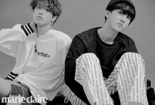 Han Changbin Marie Claire Magazine April 2019