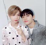 Hyunjin and Felix IG Update 180424