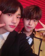 Hyunjin and Seungmin IG Update 181116