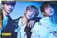 Lee Know, Seungmin and I.N Clé 2 Yellow Wood Promo Picture