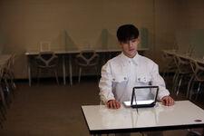 Woojin Distric 9 Music Video Shooting Behind (1)