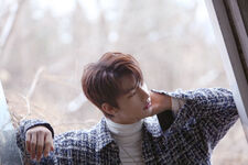 Hyunjin Mixtape Jacket Shooting Behind (6)