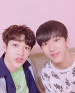 Bang Chan and Changbin IG Update 180531