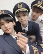Hyunjin Seungmin Bang Chan IG Update 20191214