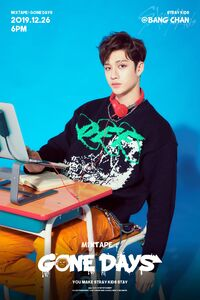 Bang Chan Mixtape Gone Days Promo Picture (2)