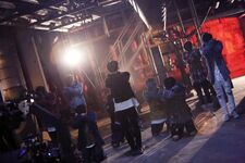 Stray Kids Grr Law of Total Madness Performance Video Shooting Behind (2)