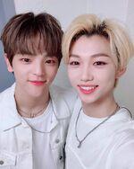 Felix and Woojin IG Update 180804 (1)