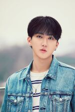 Changbin Mixtape On Track Jacket Shooting Behind