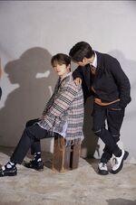 Lee Know Han SKZ2020 Jacket Shooting Behind (3)