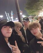 Han Lee Know Changbin Felix IG Update 20191110
