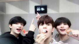 Seungmin, Hyunjin and I.N IG Update 180614 (5)