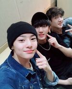 I.N, Changbin and Bang Chan IG Update 180528