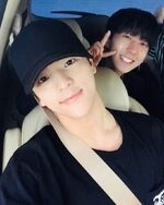 Woojin and Changbin IG Update 180521