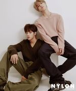 Woojin Han NYLON Korea Magazine October 2018