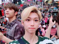 Felix and Woojin IG Update 180711